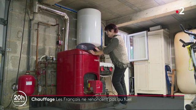 Chauffage : les Français ne renoncent pas au fuel