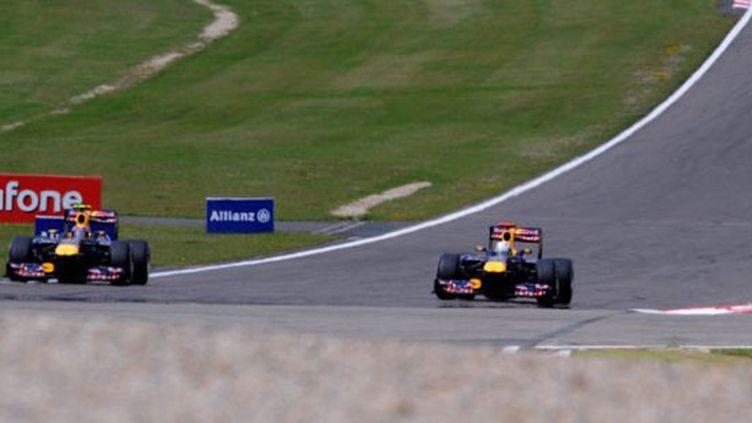 Mark Webber devance pour une fois Sebastian Vettel