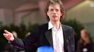 Le chanteur Mick Jagger ici à la Mostra de Venise le 7 septembre 2019. (ALBERTO PIZZOLI / AFP)