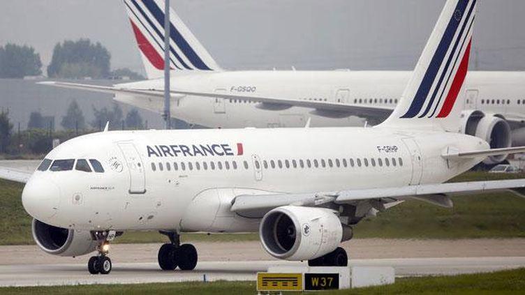 "(Air France demande le gel de la ""taxe Chirac"" © REUTERS/Charles Platiau)"