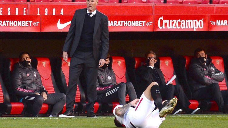Zinedine Zidane (Real Madrid) (CRISTINA QUICLER / AFP)