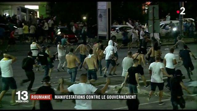 Roumanie : grandes manifestations contre le gouvernement