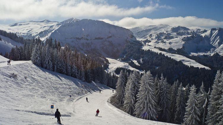 Le domaine de Megève, en Haute-Savoie (XAVIER FRANCOLON/SIPA / SIPA PRESS)