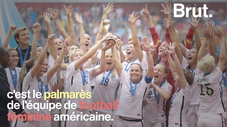 Ce vendredi 28 juin, les Bleues vont disputer le quart de finale du Mondial 2019 contre un adversaire de taille: l'équipe américaine. (BRUT)