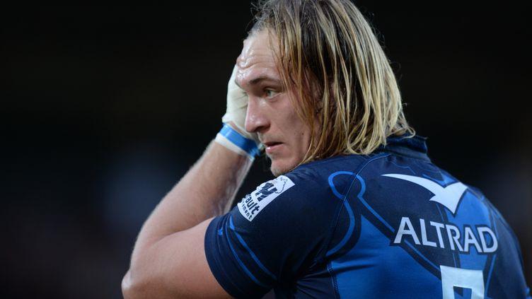 Le Sud-Africain Jacques Du Plessis (NICOLAS TUCAT / AFP)
