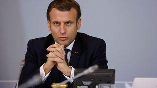 Emmanuel Macron, le 17 novembre 2020. (Ludovic MARIN / AFP / POOL)