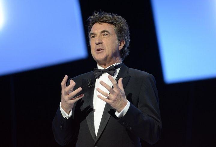 François Cluzet, président de la 39e Nuit des Césars, le 28 février 2014  (MARTIN BUREAU / AFP)