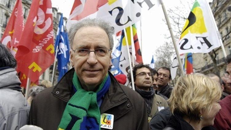 Gérard Aschieri, secrétaire général de la FSU (AFP/ STEPHANE DE SAKUTIN)