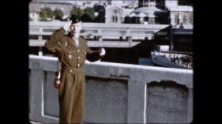"""Un jeune soldat français avant son départ pour l'Algérie, dans le documentaire """"Algérie, la guerre des appelés"""", diffusé sur France 5. (WHAT'S UP FILMS)"""