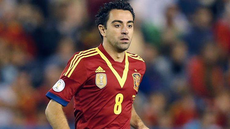 Le joueur espagnol Xavi ne portera plus le maillot de la Roja