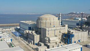 Le réacteur n°5 de la centrale nucléaire de Fuqing (Chine), en janvier 2021. (LIN SHANCHUAN / XINHUA / AFP)