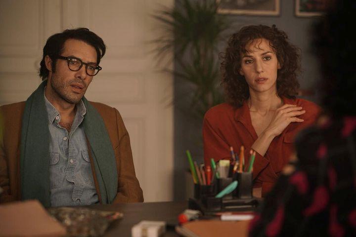 """Nicolas Bedos et Doria Tillier dans """"Monsieur et Madame Adelman"""" de Nicolas Bedos  (Les Films Du Kiosque – Christophe Brachet)"""