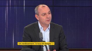 Laurent Berger était l'invité de franceinfo vendredi 10 juillet. (FRANCEINFO / RADIOFRANCE)
