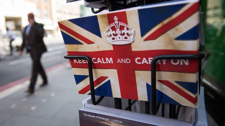 Dans une rue de Londres, le 24 juin 2016. (LEON NEAL / AFP)