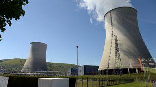 La centrale nucléaire de Chooz, dans les Ardennes, est la deuxième à diminuer sa production d'électricité en raison des fortes chaleurs. (FRANCOIS LO PRESTI / AFP)
