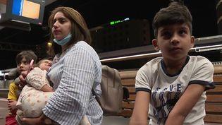 Afghanistan : une famille enfin de retour à Lyon (France 3)