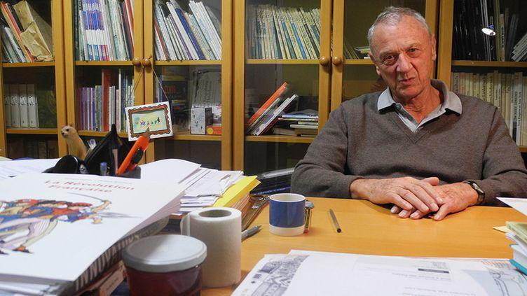 Arthur Hubschmid, directeur éditorial de L'école des loisirs  (Laurence Houot / Culturebox)