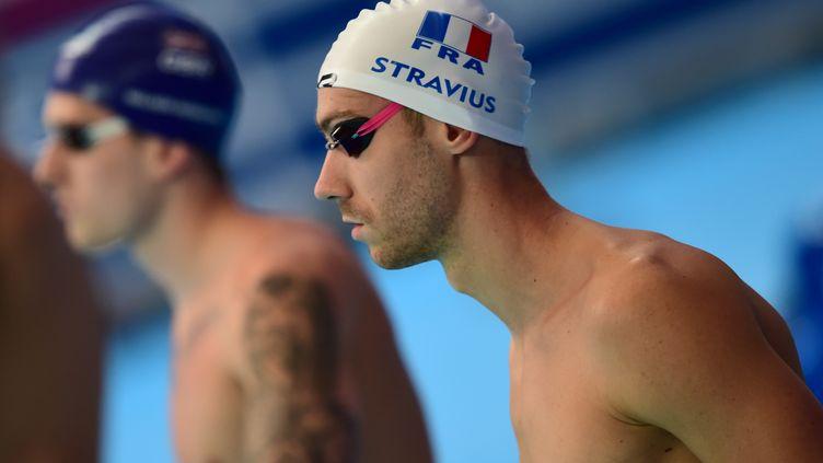Jérémy Stravius a bien enchaîné après son titre sur le 4x100m (CHRISTOPHE SIMON / AFP)