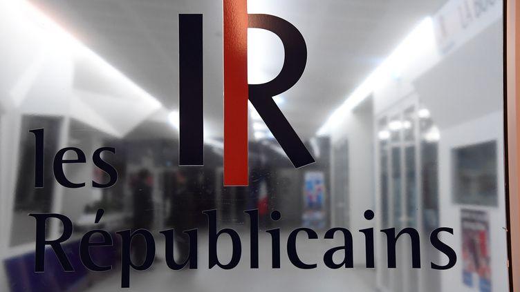 Le siège du parti Les Républicains, à Paris, le 29 novembre 2016. (BERTRAND GUAY / AFP)