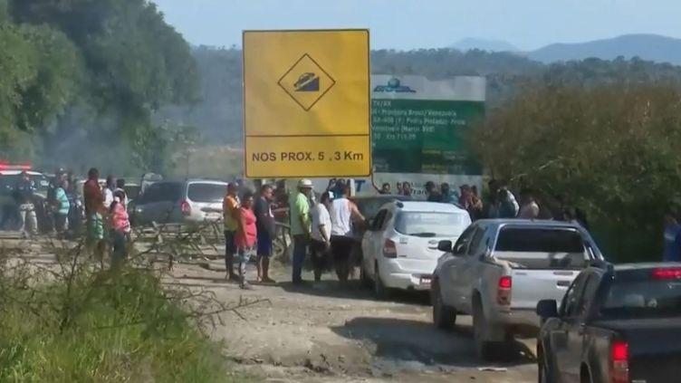 Tensions au nord du Brésil entre habitants et migrants vénézuéliens. (FRANCE 2)