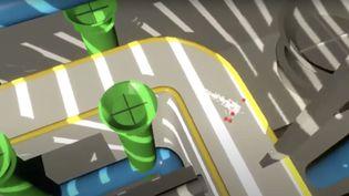"""Capture d'écran de la bande-annonde du jeu """"Prisme 7"""". (CAPTURE ECRAN / YOUTUBE)"""