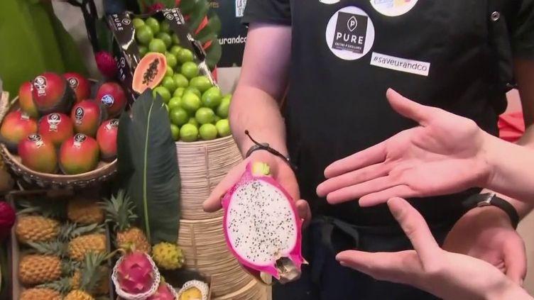Gastronomie : les fruits exotiques ont la cote (FRANCE 2)