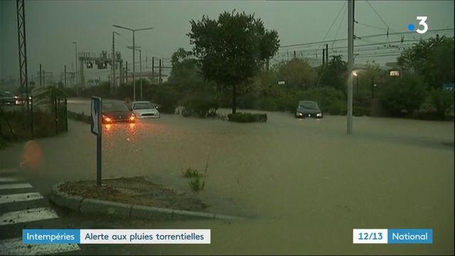 Intempéries : des pluies torrentielles dans l'Hérault