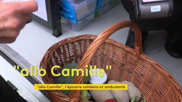 """""""Allo Camille"""" : une camionnette solidaire et itinérante dans la campagne de Haute-Saône, privée de commerces"""