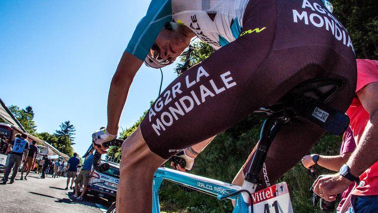 Romain Bardet, à l'arrivée. (PICASA)