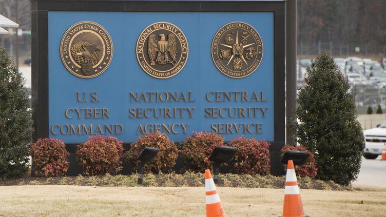 Le siège de la National Security Agency (NSA), àFort Meade, dans le Maryland, en février 2018 (illustration). (SAUL LOEB / AFP)