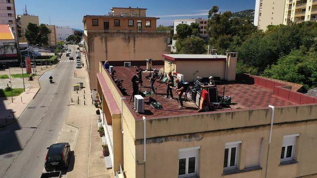Corse: concert en roof top