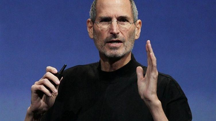 Steve Jobs (8 avril 2010) (AFP/JUSTIN SULLIVAN)