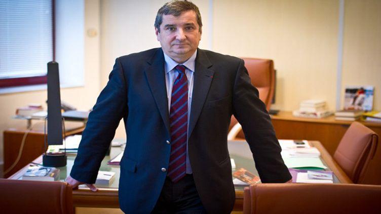 Jean-François Vilotte, président de l'Arjel (MARTIN BUREAU / AFP)
