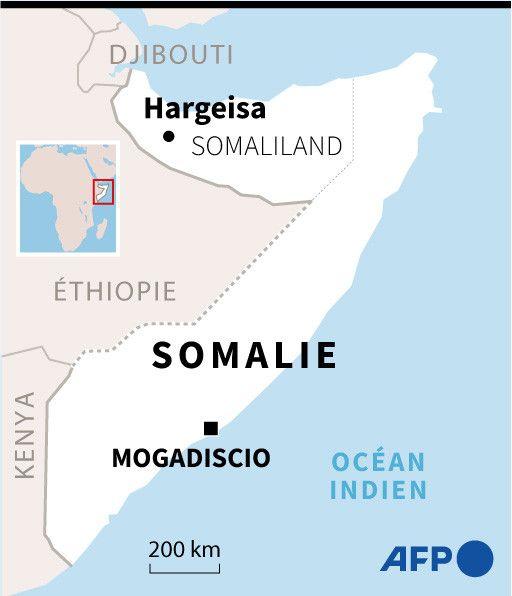 Le Somaliland est situé au nord-est de la Somalie. (AFP)