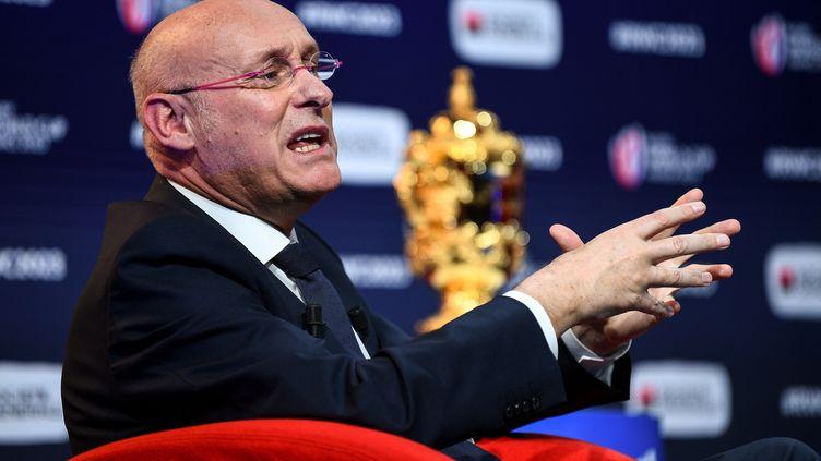 Bernard Laporte, président de la FFR, en décembre 2020. (FRANCK FIFE / AFP)