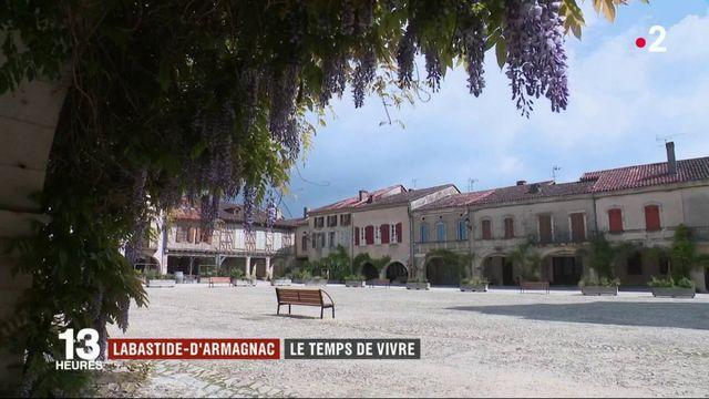 Labastide-d'Armagnac : une ville qui prend son temps
