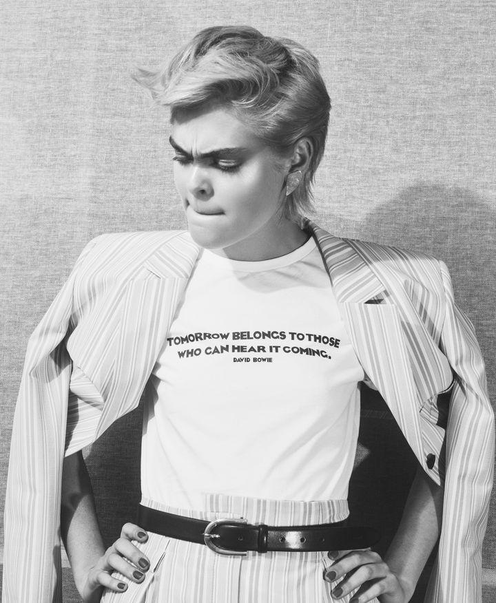 Le label Hugo dévoile une collection en édition limitéeHugo loves Bowie. 2020 (HUGO BOSS)
