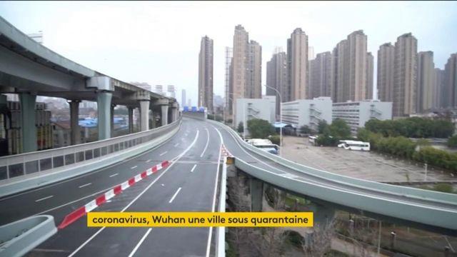 Chine : Wuhan en quarantaine à cause du coronavirus mortel