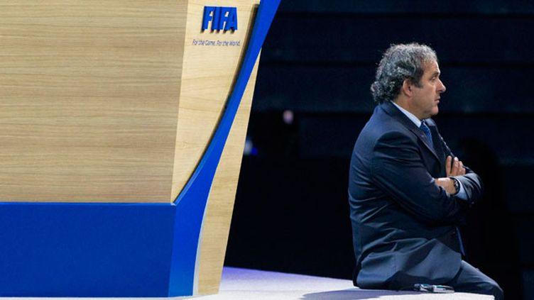 (Michel Platini a renoncé cette semaine à briguer la présidence de la FIFA © MaxPPP)