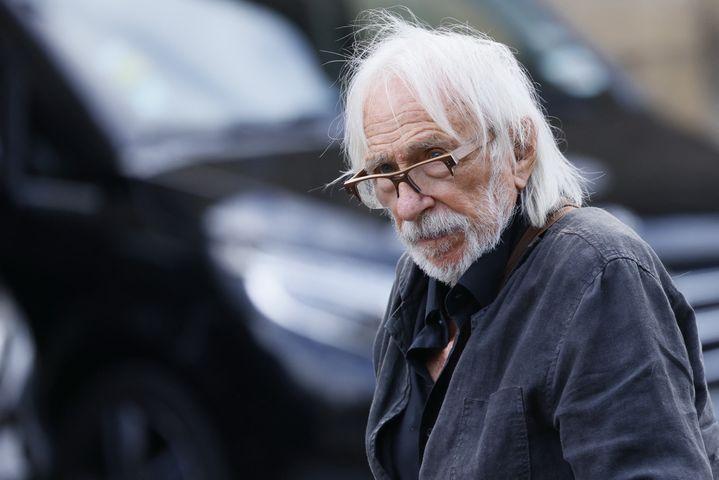 L'acteur Pierre Richard aux obsèques de Jean-Paul Belmondo, le 10 septembre à Paris (THOMAS SAMSON / AFP)