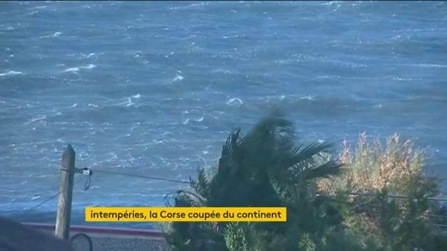 La Corse chamboulée par les intempéries