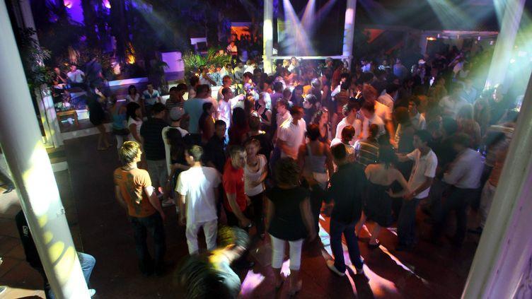 La discothèque Amnesia, au Cap d'Agde (Hérault), le 19 juillet 2008. (MAXPPP)