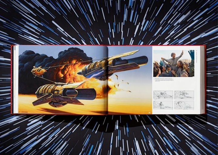 """Double page extracted from """"Star Wars II Archives"""" by Paul Duncan.  (TASCHEN EDITIONS)"""