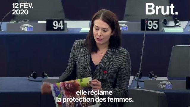 Le coup de gueule de Katalin Cseh au Parlement européen, alors que certains pays membres de l'UE n'ont toujours pas ratifié le traité sur les violences à l'égard des femmes.