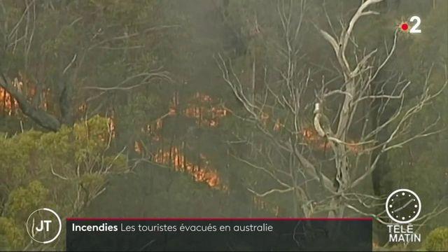 Australie : 30 000 personnes doivent évacuer à cause des feux