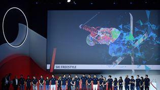 Le Comité nationale olympique et sportif français a présenté mercredi la délégation qui représentera la France aux Jeux olympiques d'hiver 2018, en Corée du sud. (FRANCK FIFE / AFP)