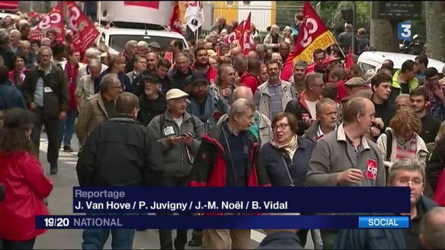 Hausse de la CSG : les retraités manifestent dans toute la France