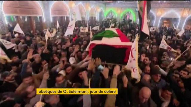 Obsèques de Qassem Soleimani : l'Iran et l'Irak main dans la main