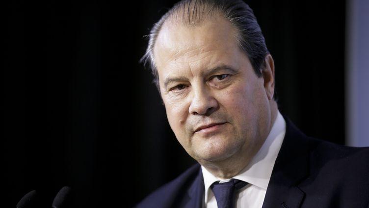 Le premier secrétaire du PS Jean-Christophe Cambadélis à Paris, le 24 février 2015 (  MAXPPP)