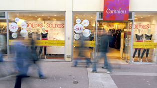 Un magasin Camaïeu de Caen, en Normandie. (MYCHELE DANIAU / AFP)